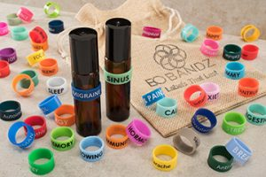 EO Bandz essential oil bottle band variety