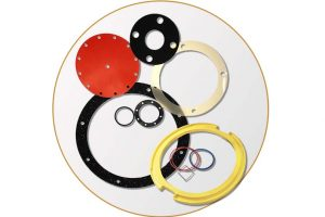 Gaskets Seals Icon Gray