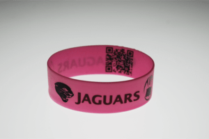 Jaguars with QRC Code inside Gray