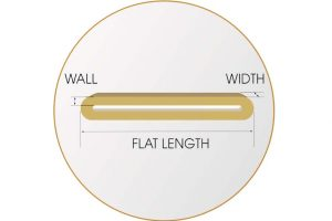 Measure for Rubber Band Icon Gray