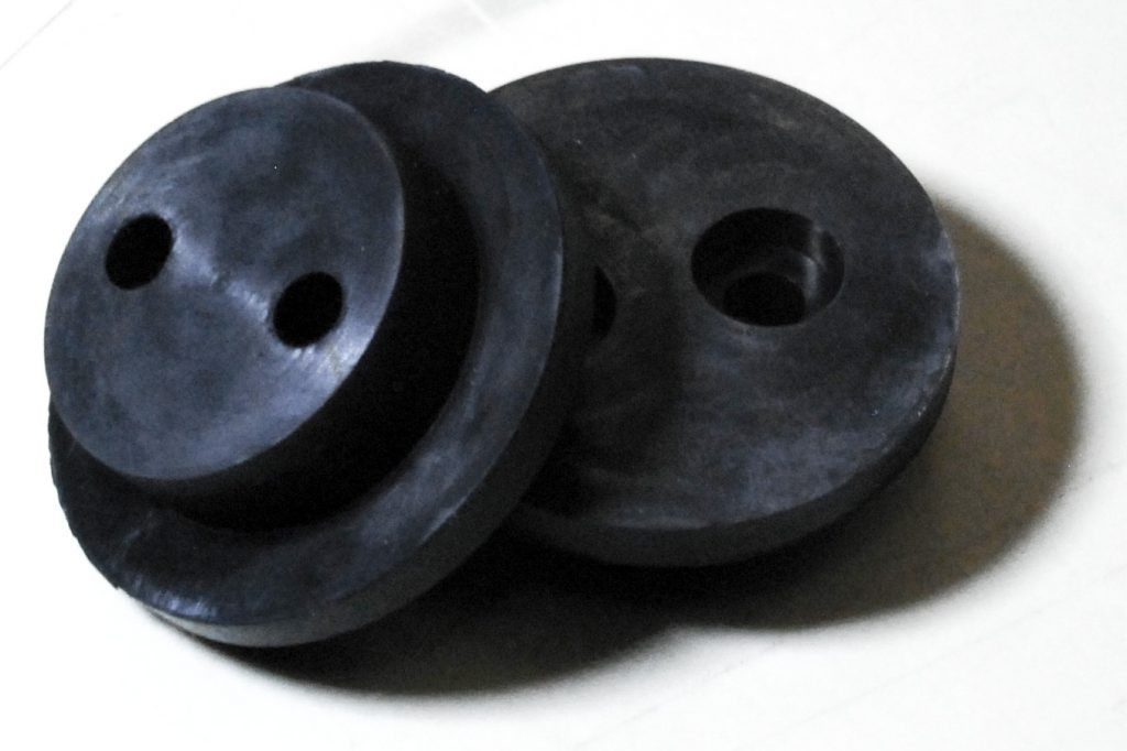 EPDM black rubber buttons