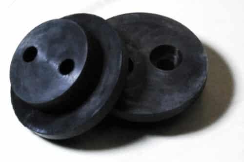 EPDM black rubber buttons