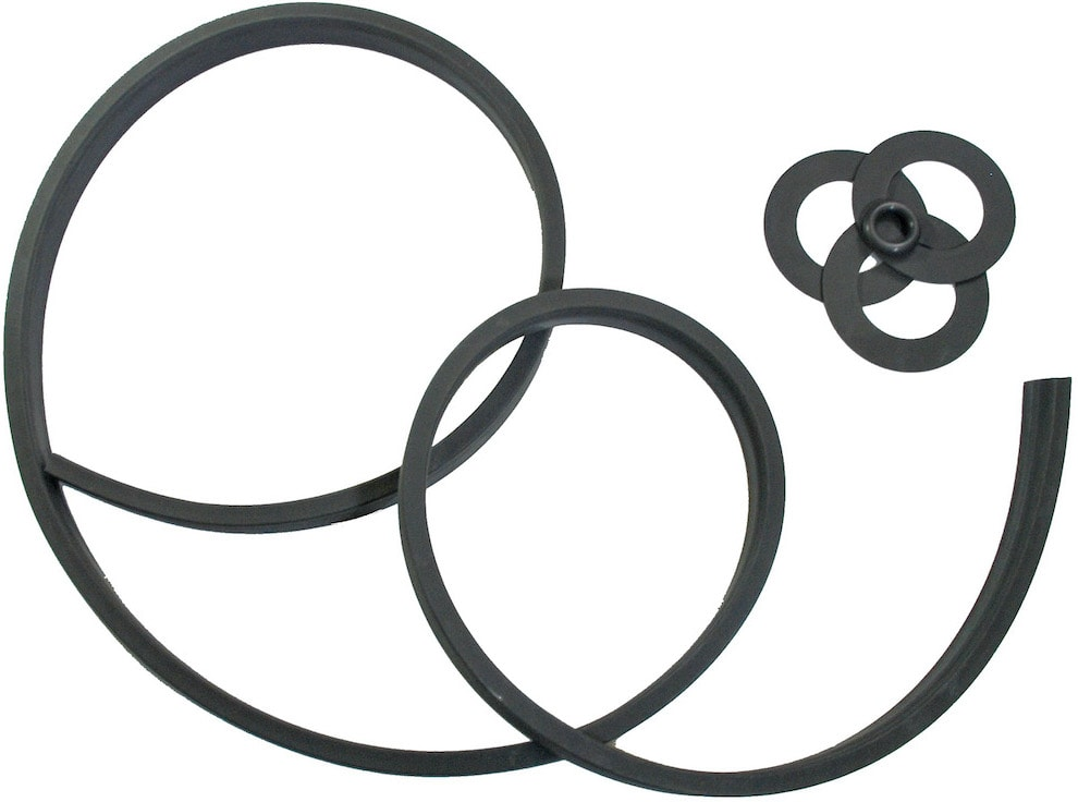 Viton gaskets with extrusion