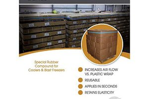 Freezer Pallet Bands, Cold Storage Bands, Pallet Bands, Cold Temperature Rubber Bands