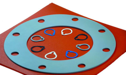 Sponge Silicone Rubber Sheet with Gaskets
