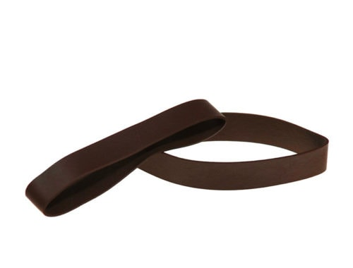 Non-Latex Rubber Bands 3.5″ Flat Length - Brown