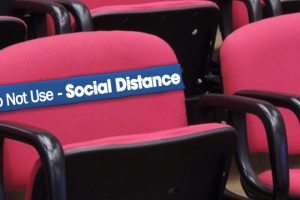 Social Distancing Chair Bands