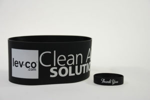 Levco Custom Rubber Band Advertising