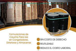 Bandas de paletas by Aero Rubber Company, Inc. Pallet Bands
