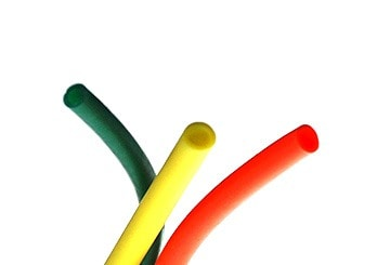 Small Orange Yellow Green Tubing