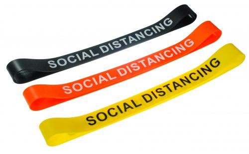 Multi Colored Silicone Chair Bands Social Distancing